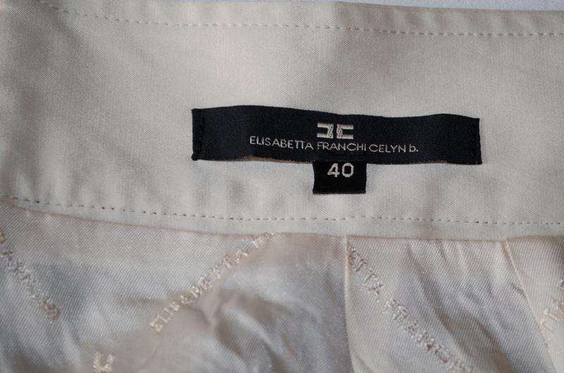 Шикарная шерстяная юбка люксового бренда elisabetta franchi ит... - Фото 6