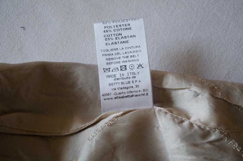 Шикарная шерстяная юбка люксового бренда elisabetta franchi ит... - Фото 7