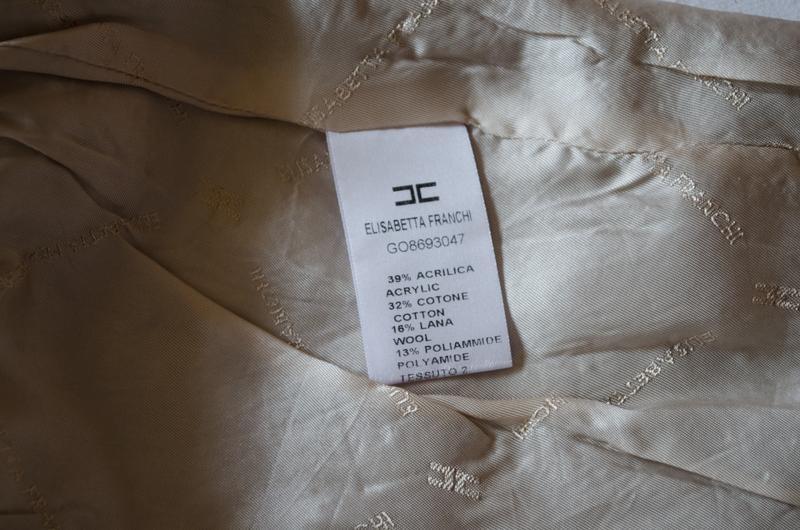 Шикарная шерстяная юбка люксового бренда elisabetta franchi ит... - Фото 8
