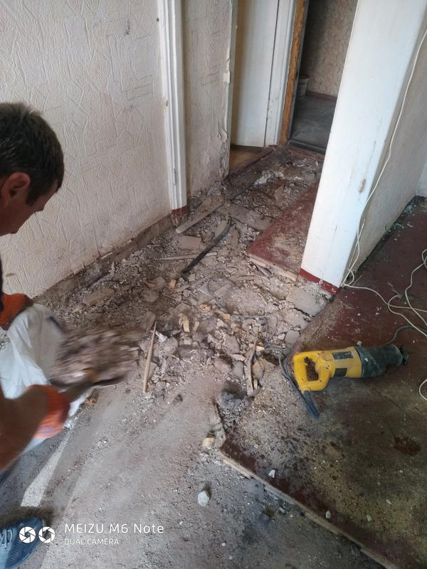 Демонтаж стен, плитки, стяжки, штукатурки. Вывоз мусора. - Фото 4