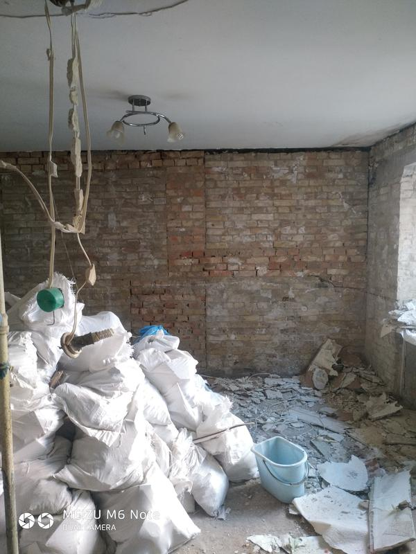 Демонтаж стен, плитки, стяжки, штукатурки. Вывоз мусора. - Фото 6