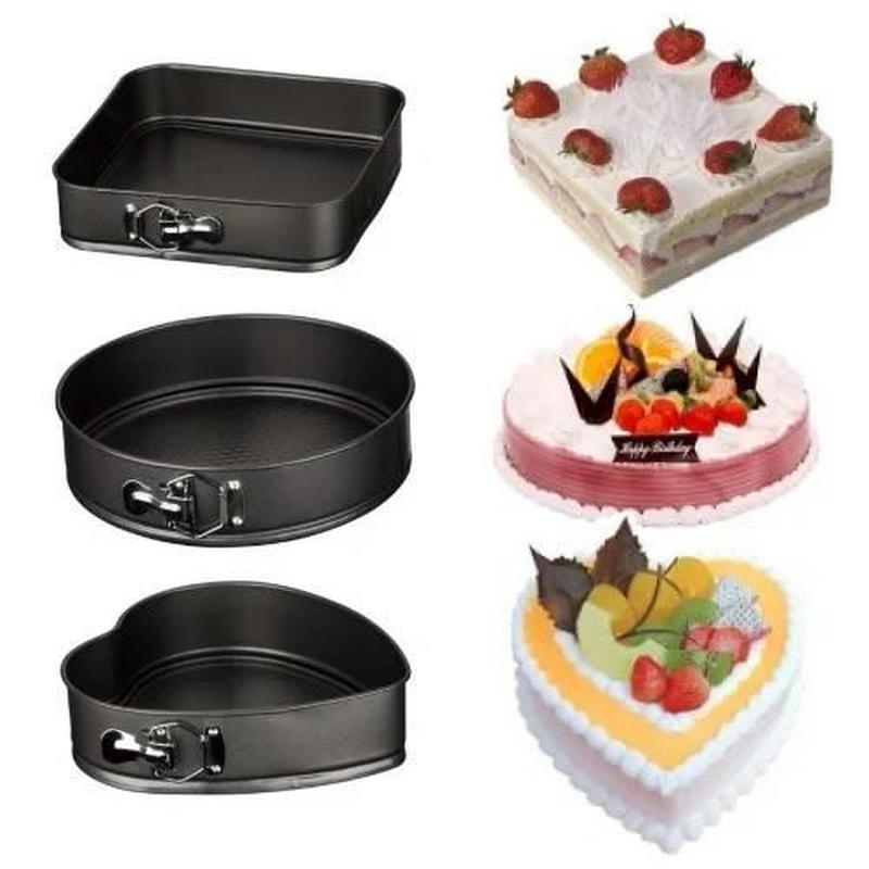 Набор разъемных форм для выпечки, выпекания коржей , тортов,ке...