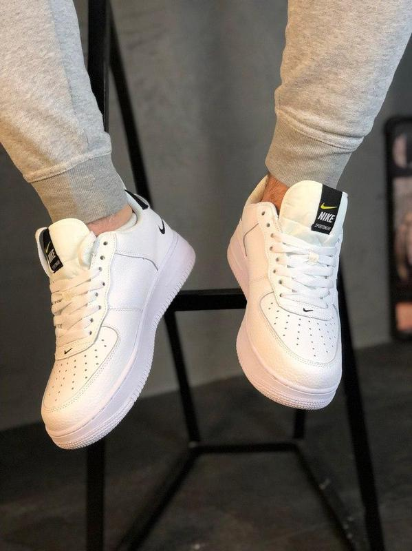 Кроссовки Nike Air Force 1 Utility White. - Фото 3