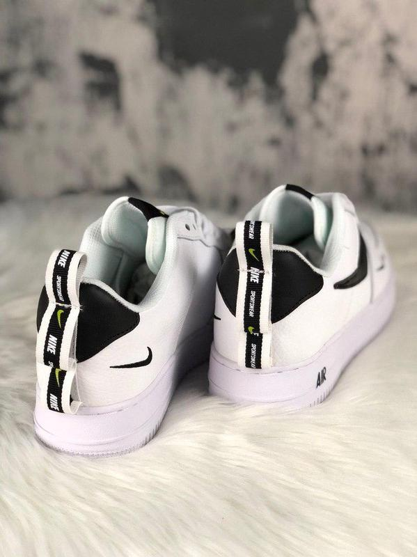Кроссовки Nike Air Force 1 Utility White. - Фото 2