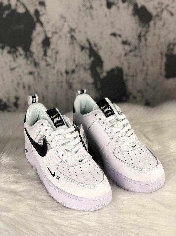 Кроссовки Nike Air Force 1 Utility White. - Фото 5
