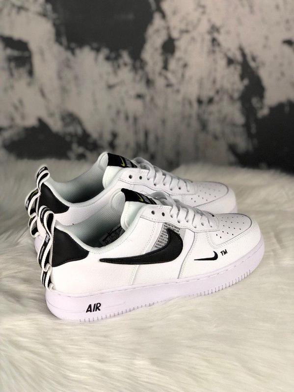 Кроссовки Nike Air Force 1 Utility White. - Фото 8