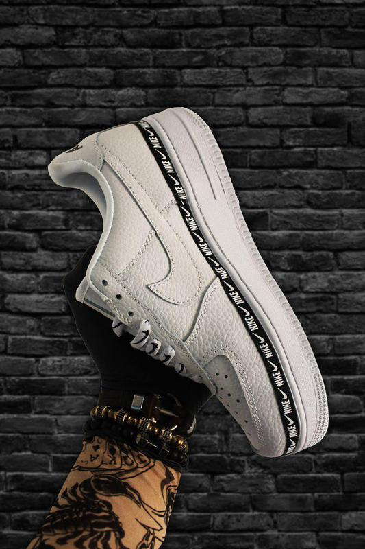 Кроссовки Nike Air Force 1 Low White Black - Фото 3