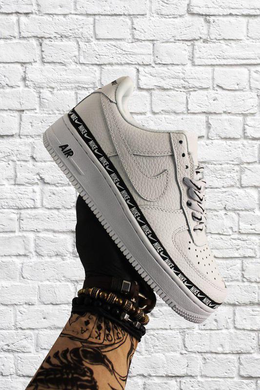 Кроссовки Nike Air Force 1 Low White Black - Фото 7