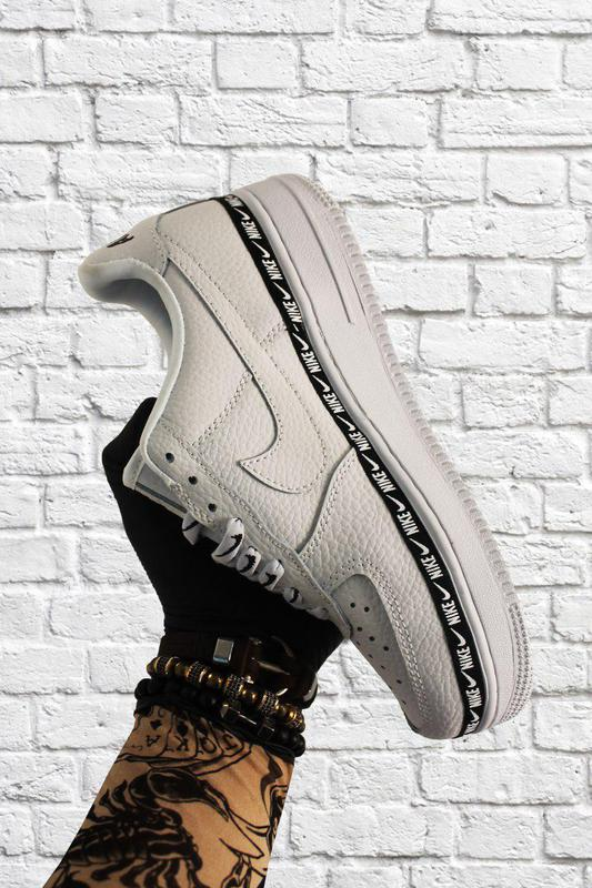 Кроссовки Nike Air Force 1 Low White Black - Фото 6