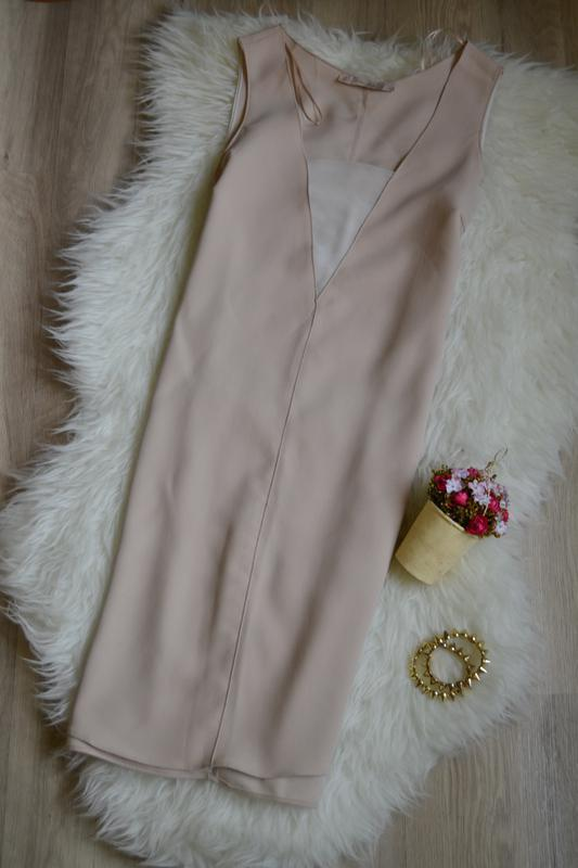 Пудровое платье - Фото 2