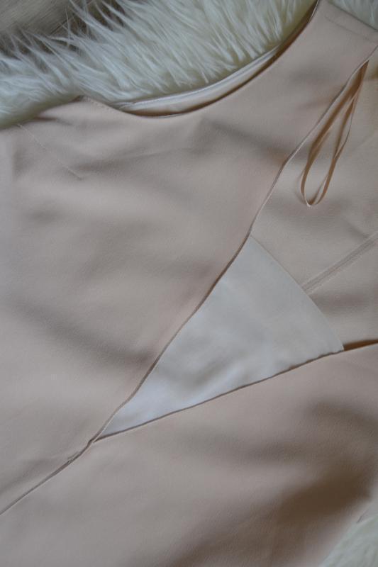 Пудровое платье - Фото 3