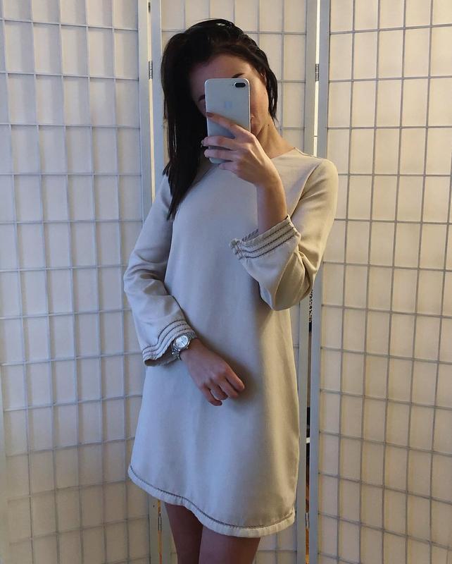 Пудровое платье лт манго