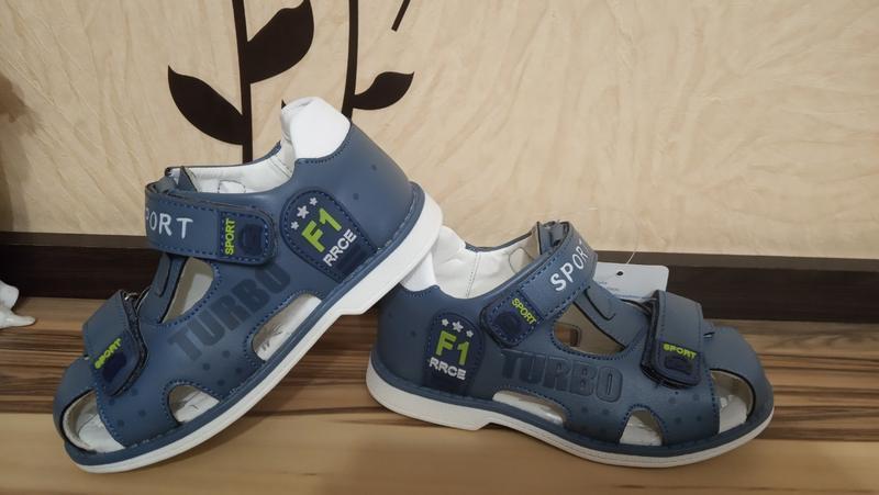 Ортопедические босоножки сандалии том.м - Фото 3