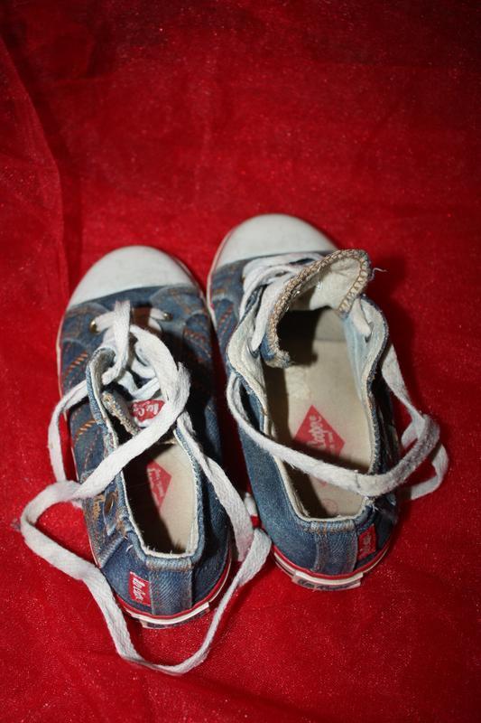 Фирменные джинсовые  кеды ф.leecooper р-с12(р-31) в идеальном ... - Фото 3