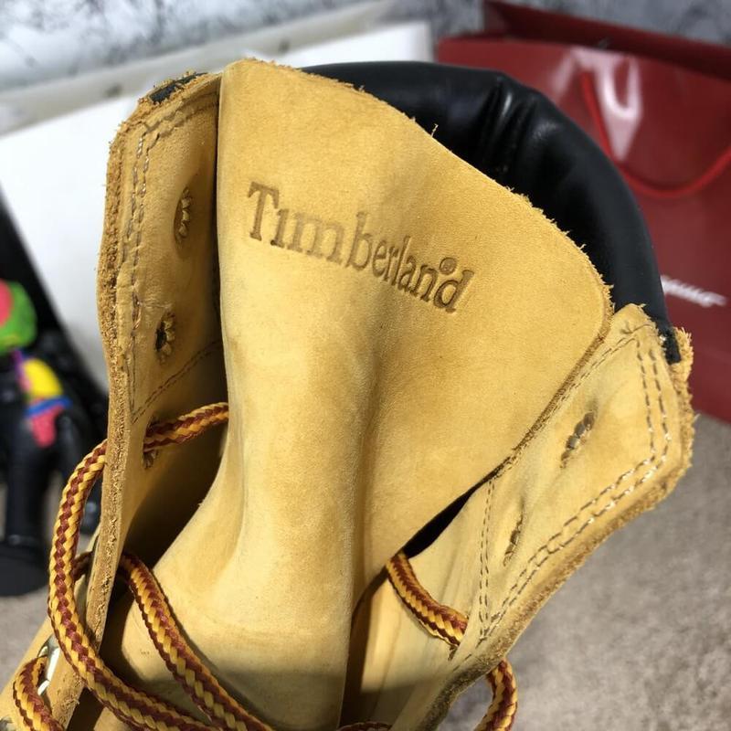 Ботинки мужские Тимберленды Timberland - Фото 9