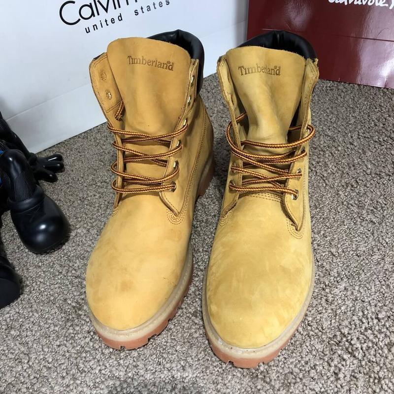 Ботинки мужские Тимберленды Timberland - Фото 3