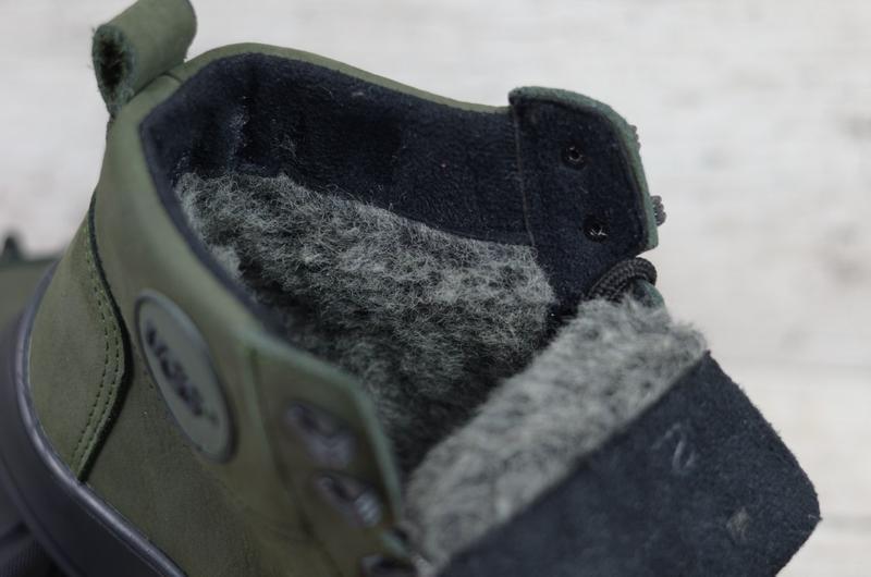 Ботинки мужские натуральная кожа зима - Фото 8