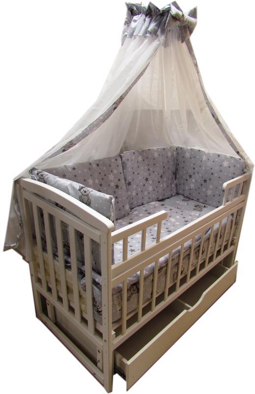 Комплект для сна! Комод, кровать маятник, матрас кокос, постель. - Фото 7