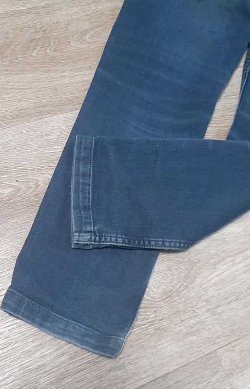 Детские джинсы / джинсы со шнурками / штаны / джинс / - Фото 5