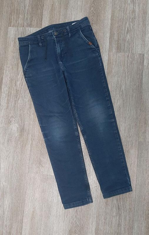Детские джинсы / джинсы со шнурками / штаны / джинс /