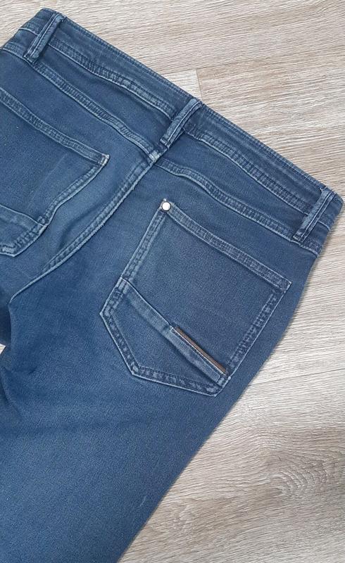 Детские джинсы / джинсы со шнурками / штаны / джинс / - Фото 3