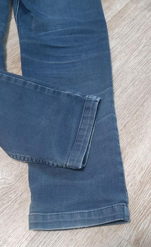 Детские джинсы / джинсы со шнурками / штаны / джинс / - Фото 6