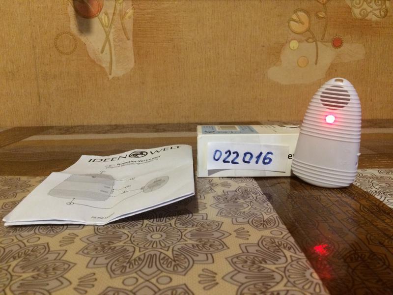 Отпугиватель мышей на батарейках IDEEN WELT P8-RM-MRBO - Фото 3