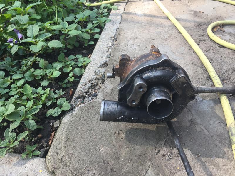 Турбина после реставрации 1,5 dci RENAULT MEGANE 2 , РЕНО МЕГАН 2 - Фото 3