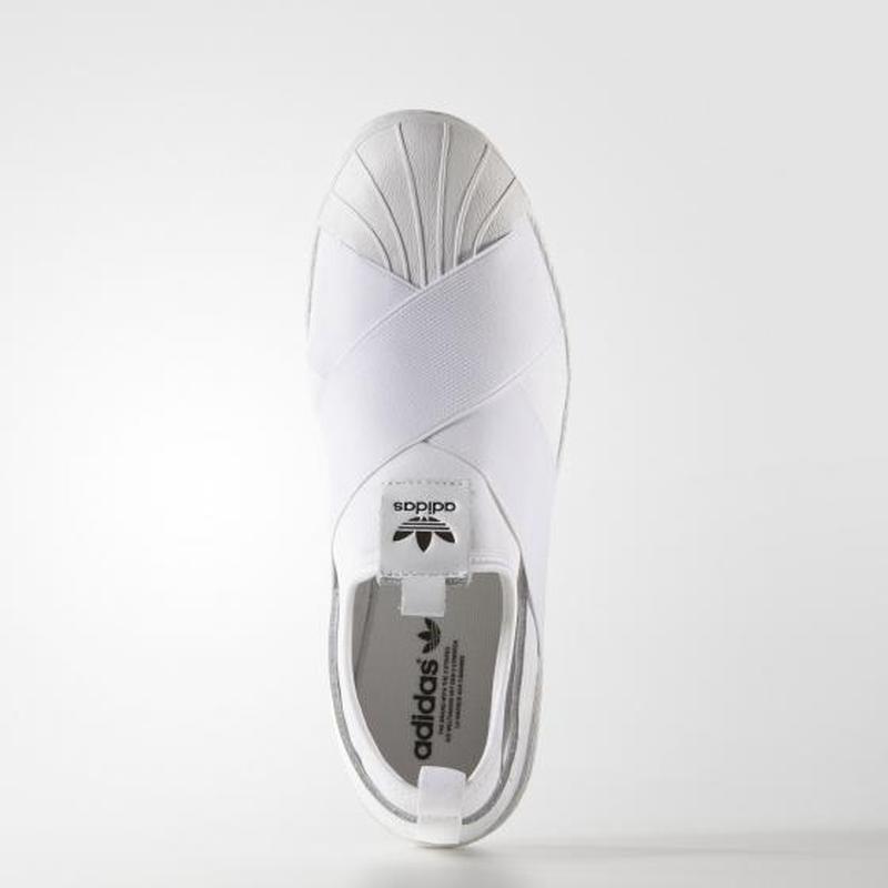 Кроссовки-слипоны adidas superstar w s81338 - Фото 4