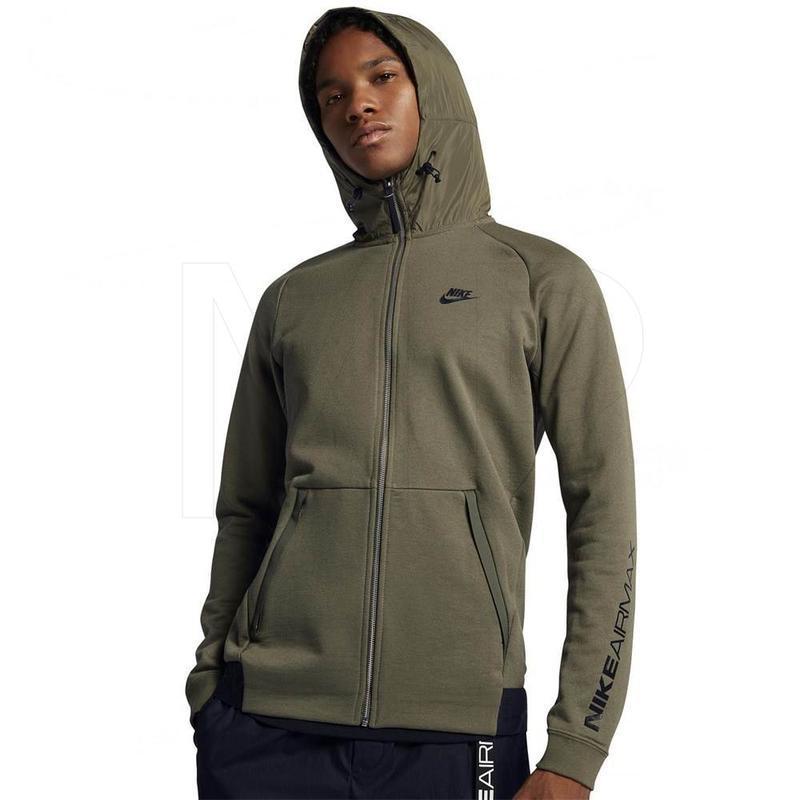 Оригинальное худи новая коллекция  nike ® air max full zip hoodie