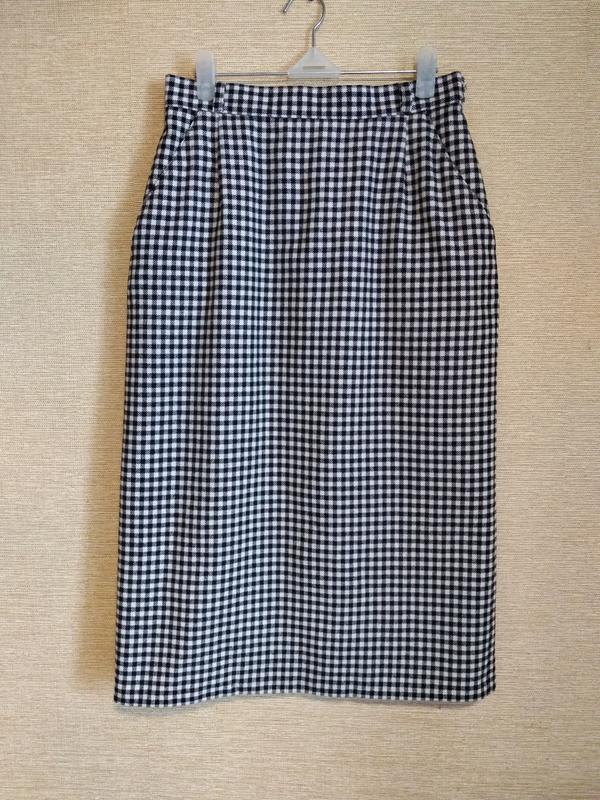 Шикарная классическая юбка спідниця в клетку с карманами