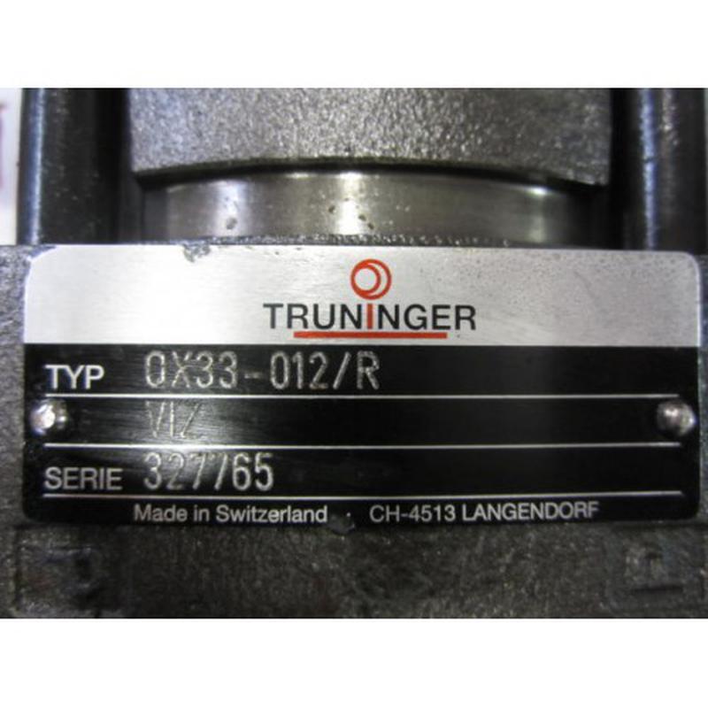 Ремонт шестеренчатого насоса Truninger
