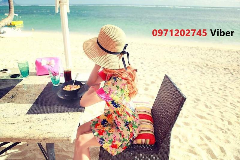 Шляпа женская летняя канотье полями 9 см и лентой кремовая сол... - Фото 5