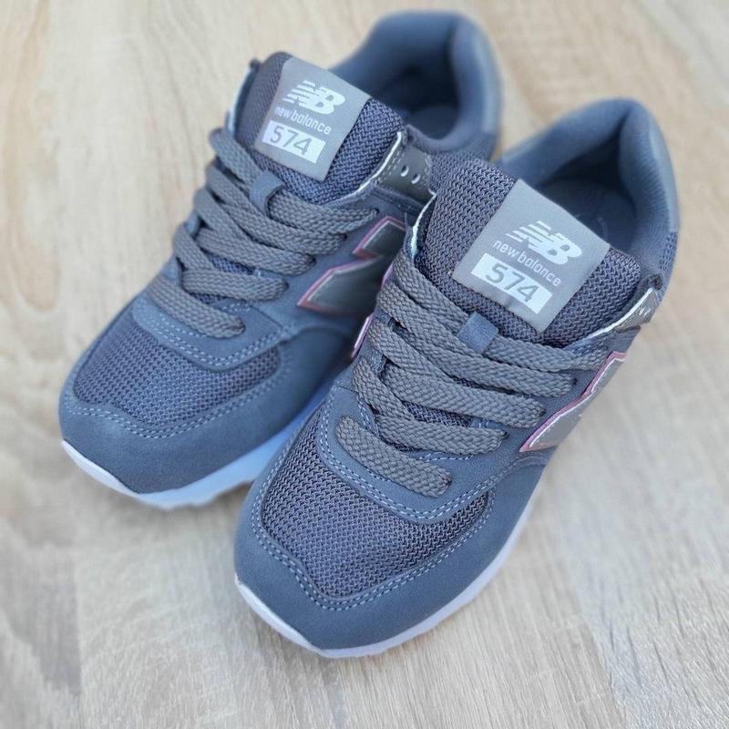 Идеальные женские кроссовки new balance 574 😍 нью баланс - Фото 4