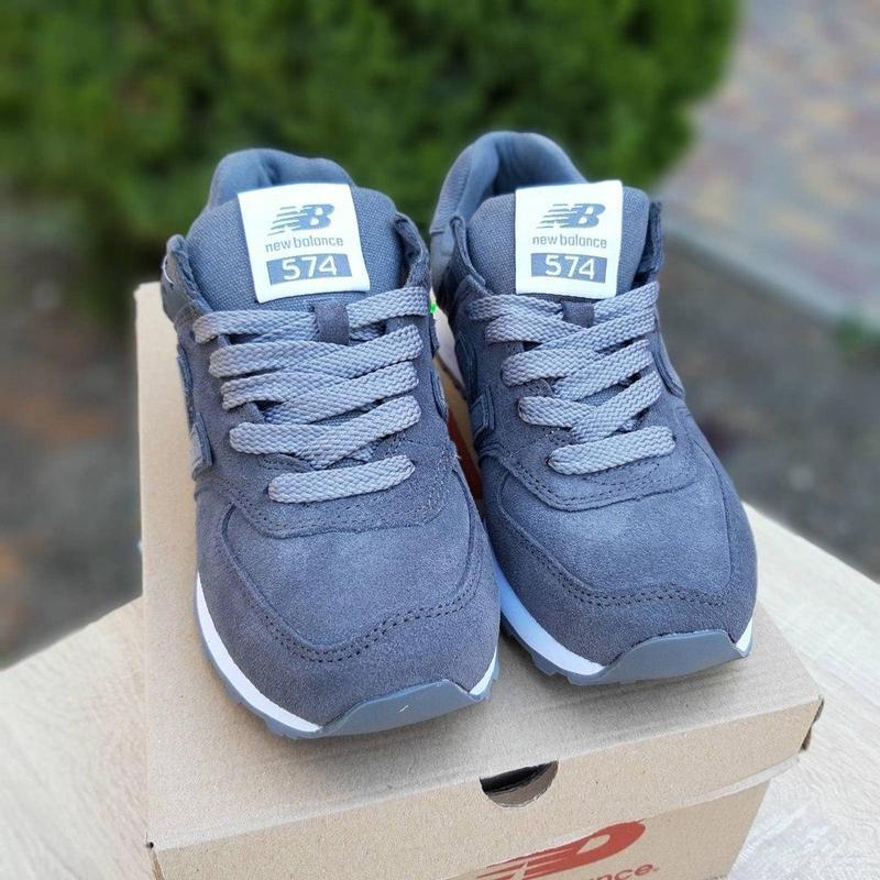 Идеальные женские кроссовки new balance 574 😍 нью баланс - Фото 5
