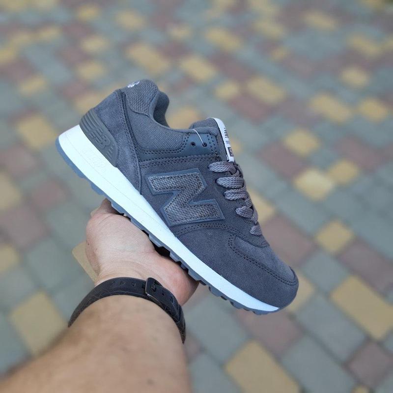 Идеальные женские кроссовки new balance 574 😍 нью баланс - Фото 6