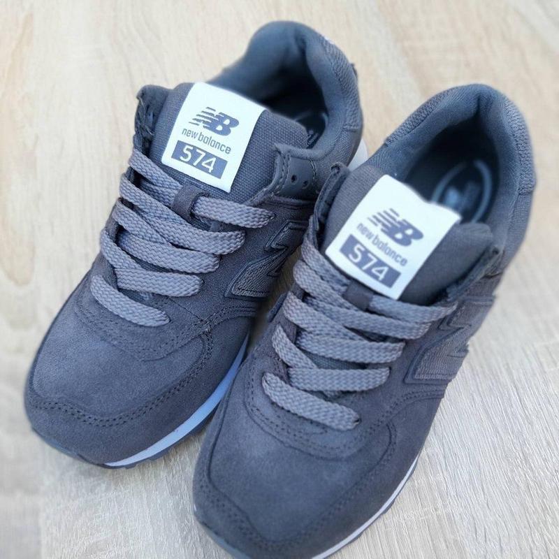 Идеальные женские кроссовки new balance 574 😍 нью баланс - Фото 8