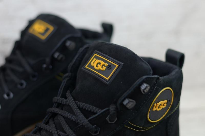 Ботинки мужские зимние натуральная кожа нубук - Фото 7