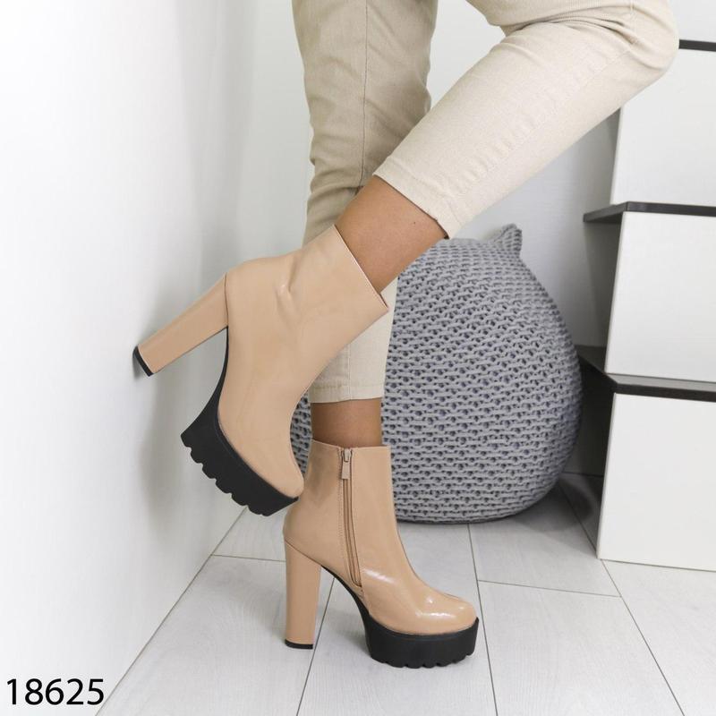 👟 полуботинки женские каблук     / наложенный платёж bs👟