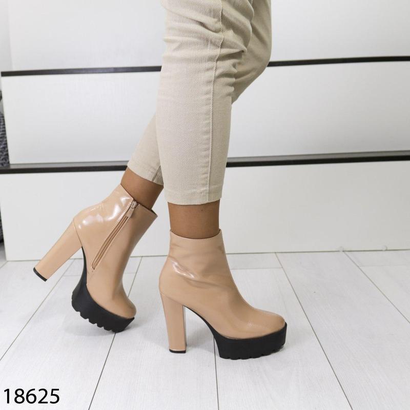 👟 полуботинки женские каблук     / наложенный платёж bs👟 - Фото 2