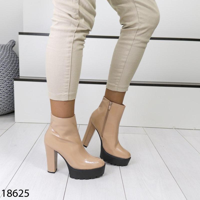 👟 полуботинки женские каблук     / наложенный платёж bs👟 - Фото 3
