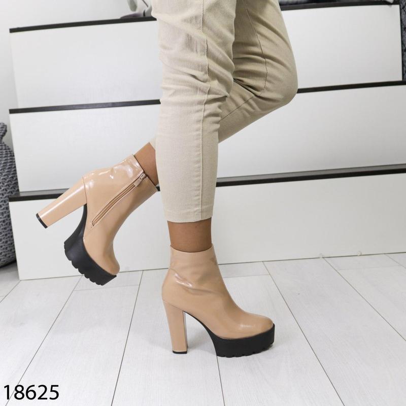 👟 полуботинки женские каблук     / наложенный платёж bs👟 - Фото 4