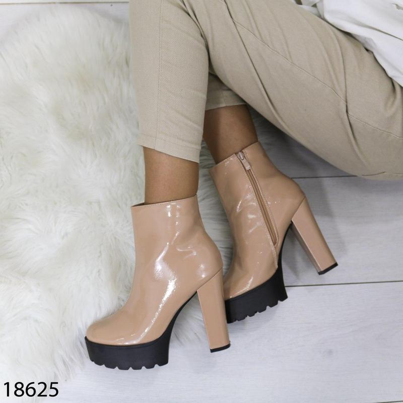 👟 полуботинки женские каблук     / наложенный платёж bs👟 - Фото 5