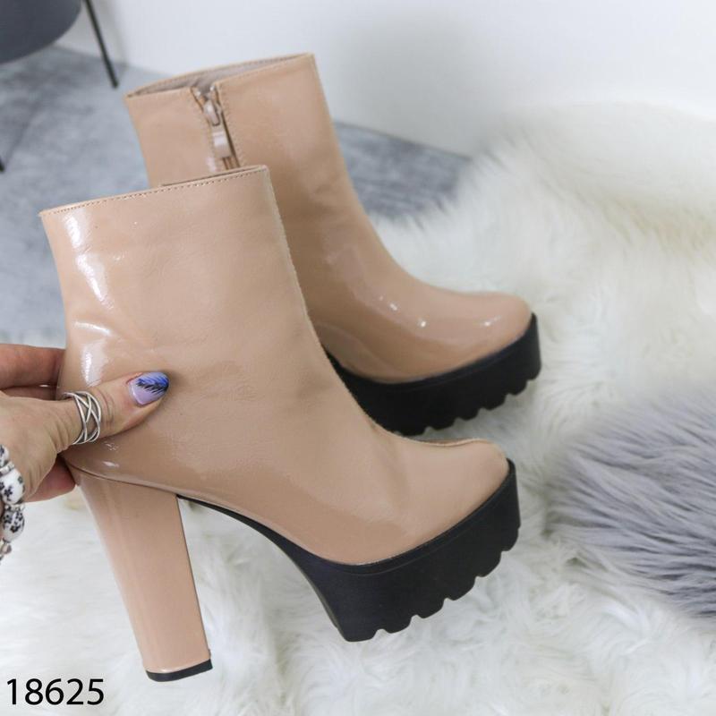 👟 полуботинки женские каблук     / наложенный платёж bs👟 - Фото 6