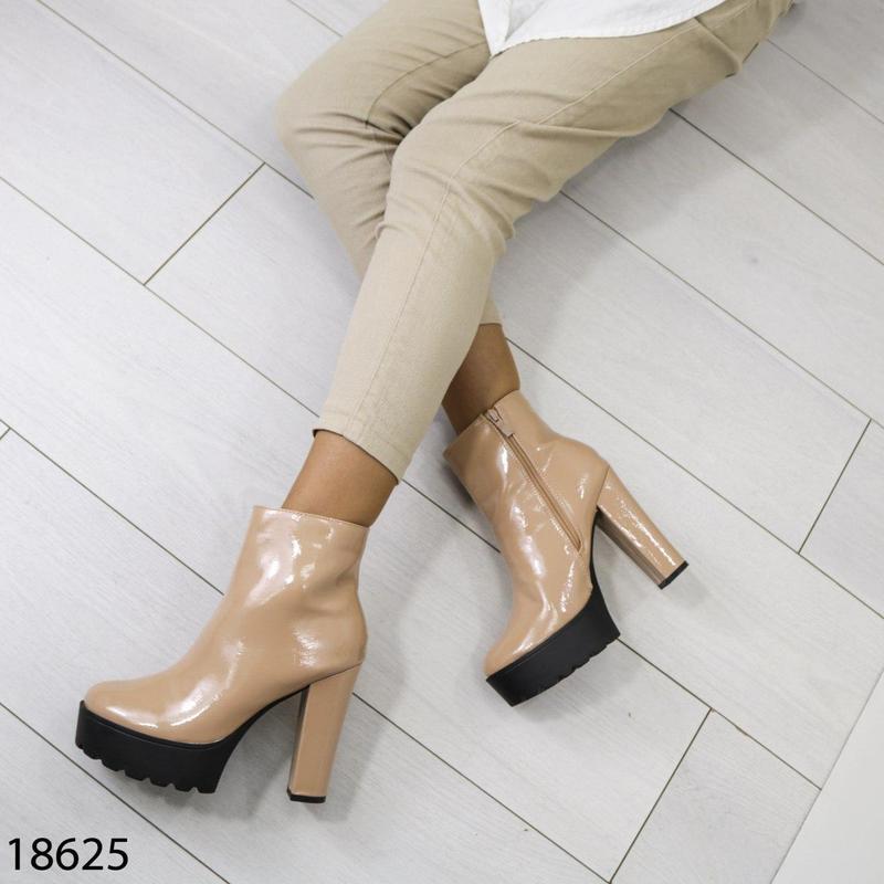 👟 полуботинки женские каблук     / наложенный платёж bs👟 - Фото 7