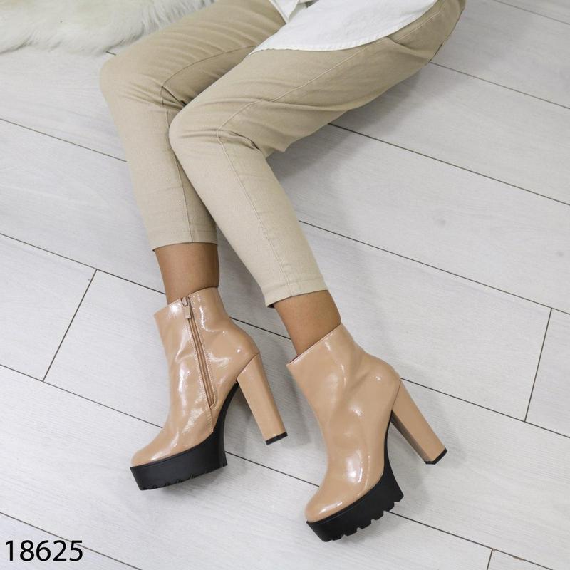 👟 полуботинки женские каблук     / наложенный платёж bs👟 - Фото 8