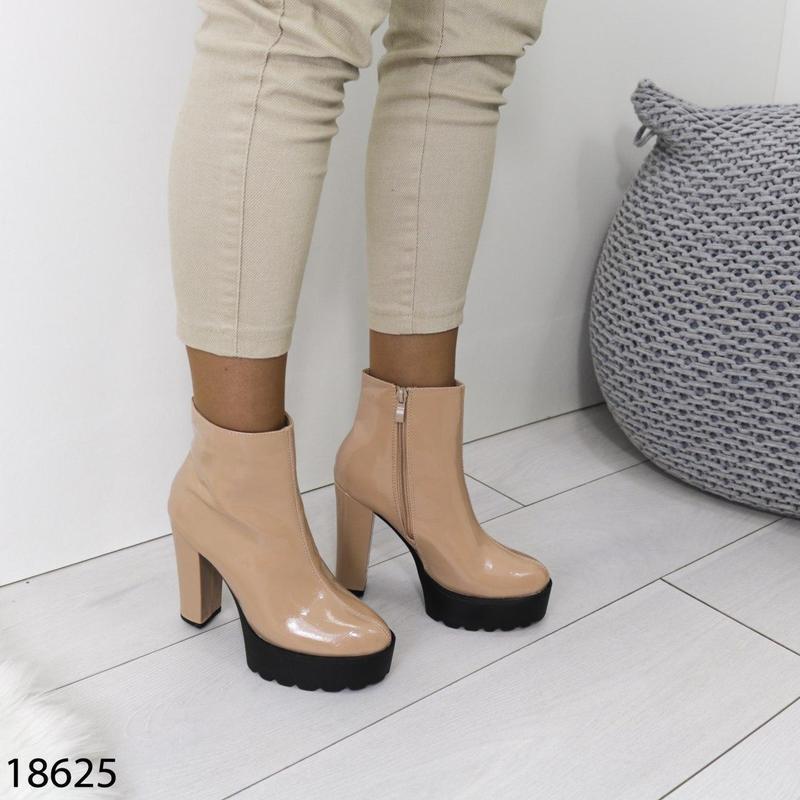 👟 полуботинки женские каблук     / наложенный платёж bs👟 - Фото 9