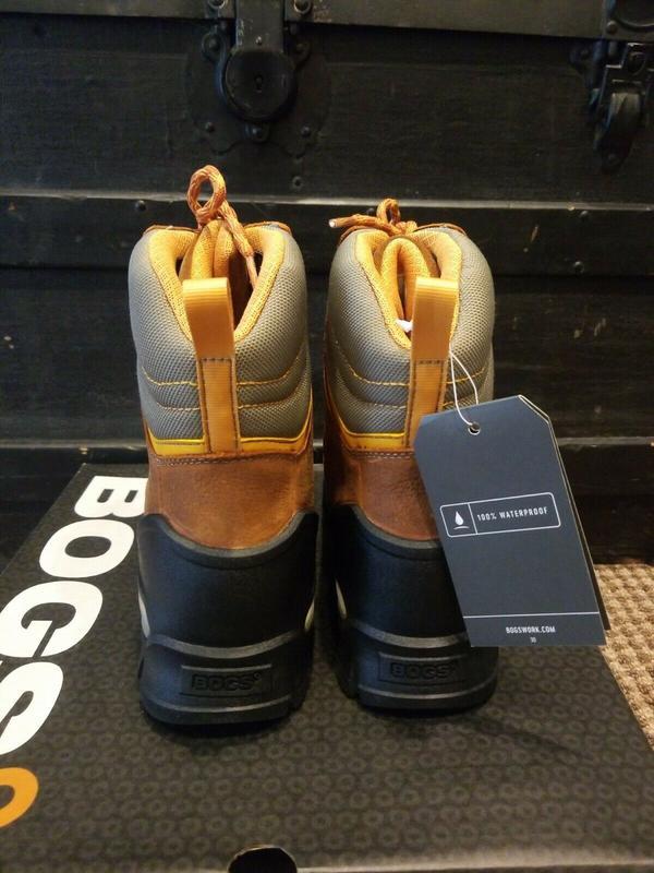"""Черевики Bogs Bedrock 8"""" Boots Waterproof - Фото 3"""