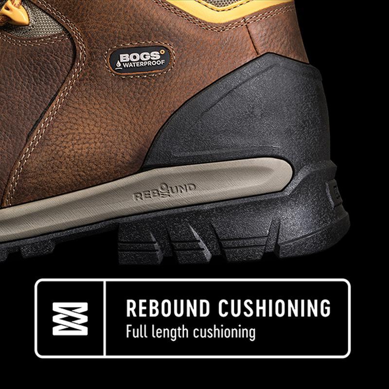 """Черевики Bogs Bedrock 8"""" Boots Waterproof - Фото 8"""