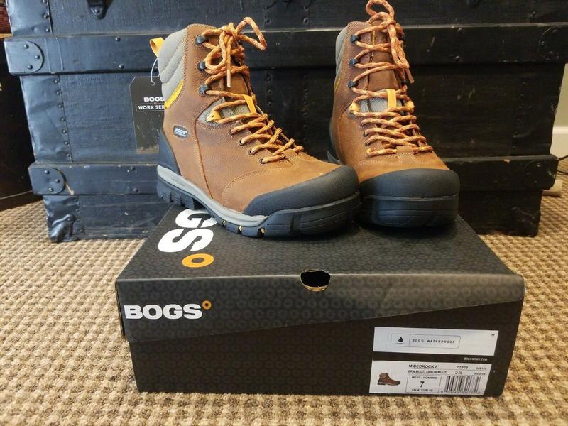 """Черевики Bogs Bedrock 8"""" Boots Waterproof - Фото 2"""